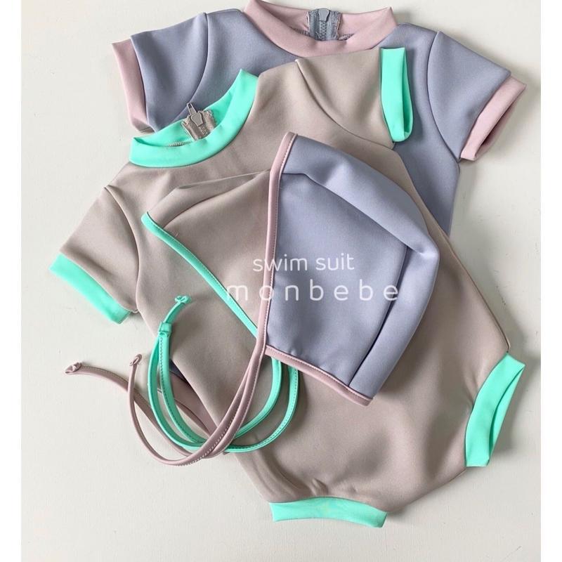 mesh swimwear(帽子セット)