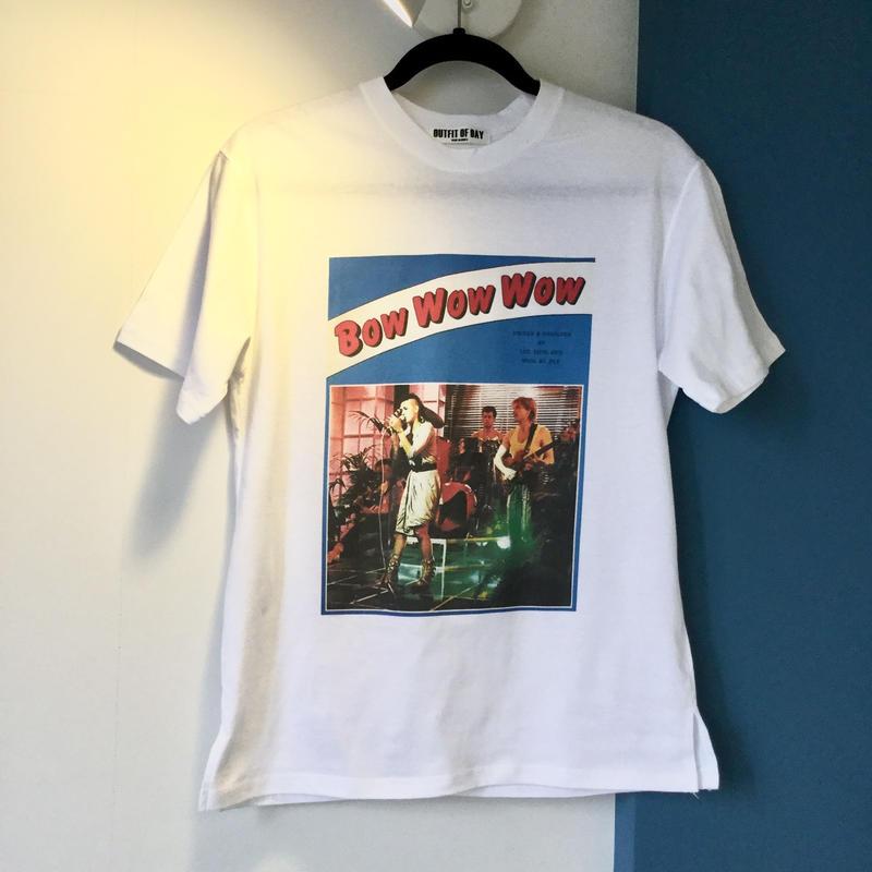 ビンテージ風プリントTシャツ