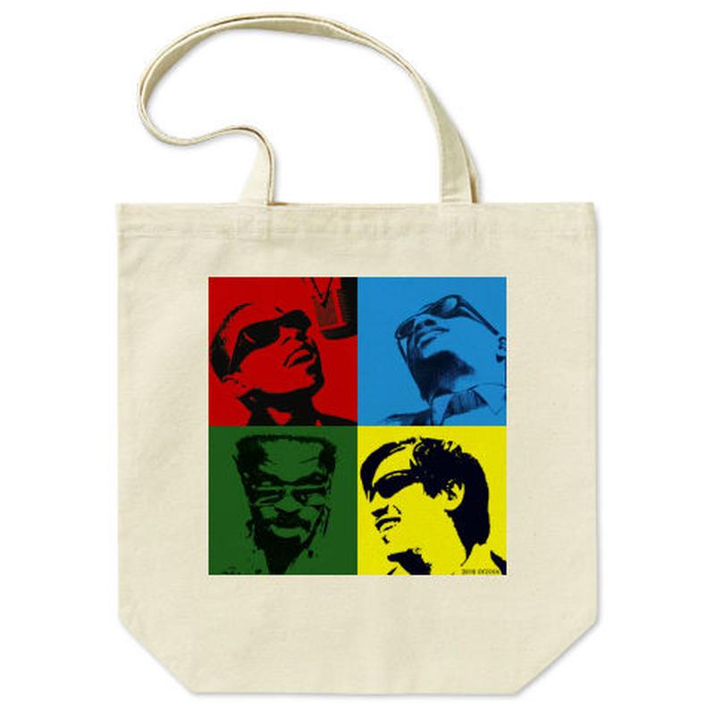 """orz design – """"4 Blind Legend"""" Tote Bag"""