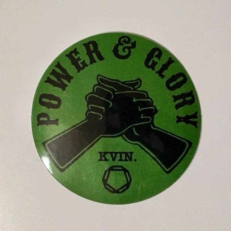 """Kvin. Playground – """"This is how we feel about Black Jazz"""" Sticker"""