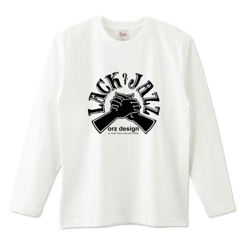 "orz design ‎– ""LACK of JAZZ"" L/S Tee"