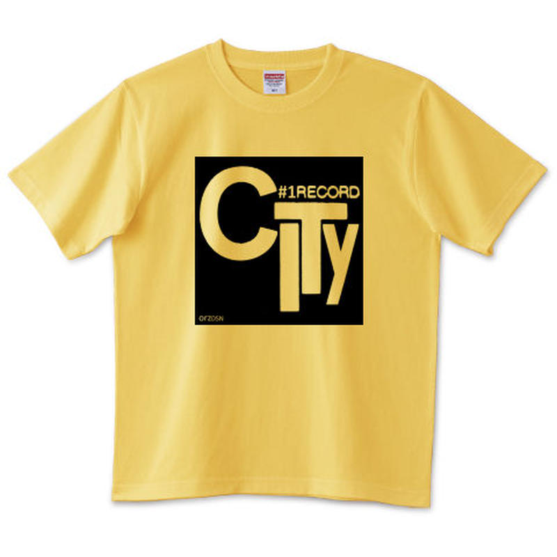 "orz design ‎– ""#1 Record City #2"" Tee"