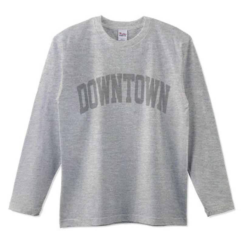 """University of DOWNTOWN"" L/S Tee"