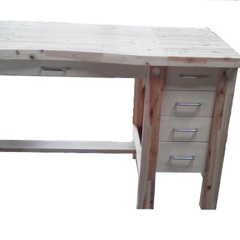 【組立式木製作業台】本体