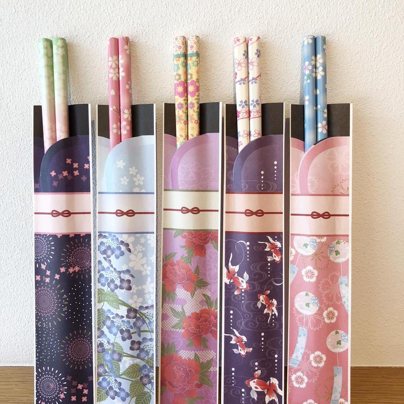 6月份貼心小禮 /   浴衣風筷子 yukata style chopsticks