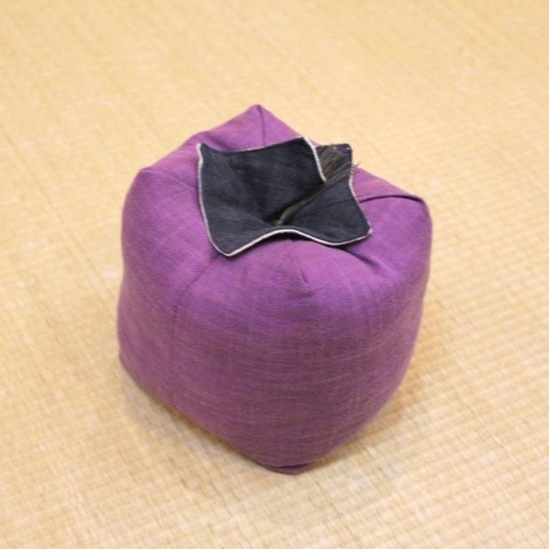 京野菜 加茂なす(正座用サイコロ枕)