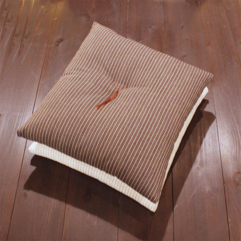 小座布団(たて刺子)