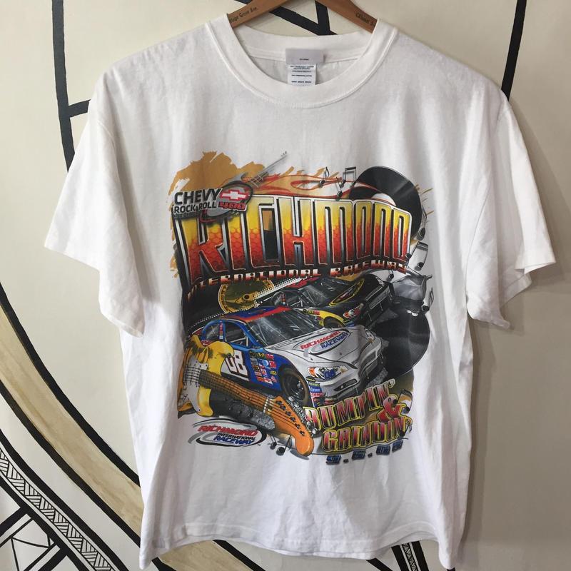 【ド派手】NASCAR 両面プリント レーシングTシャツ