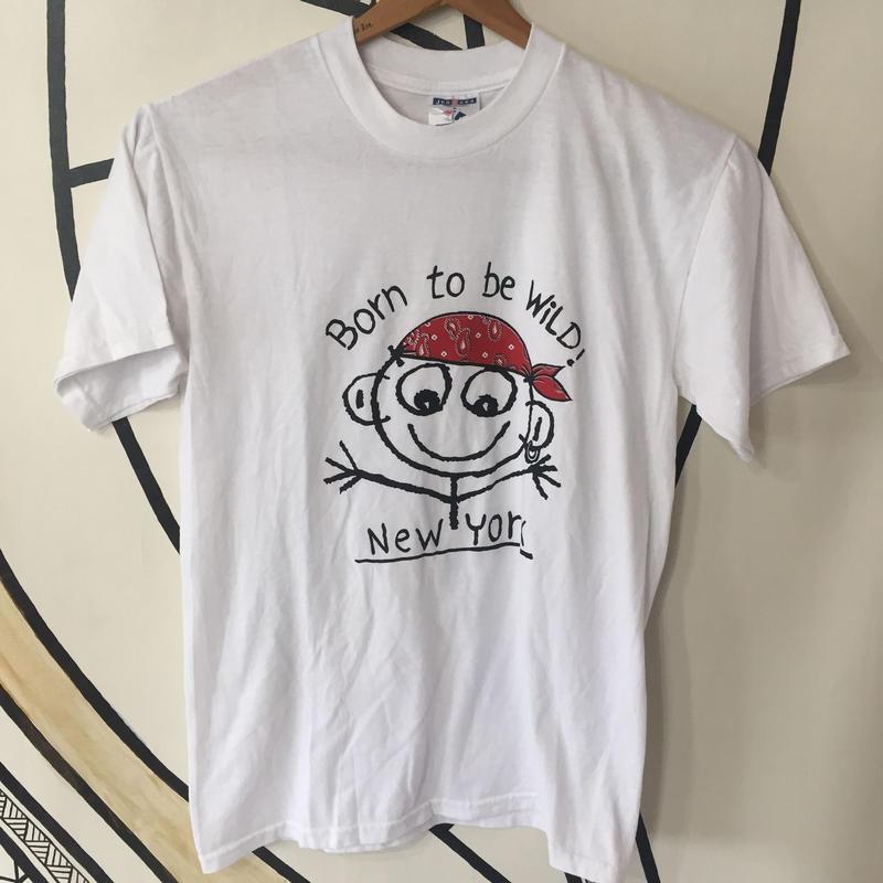 【レア】90s ダニーファースト プリント Tシャツ