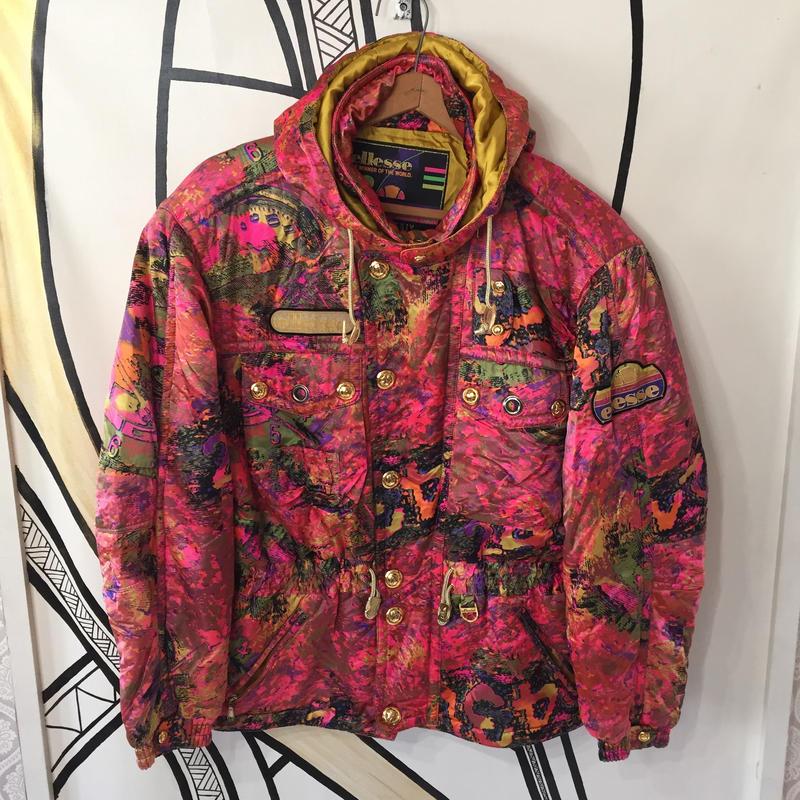 【スペシャル】80's柄ド派手elleseスキージャケット