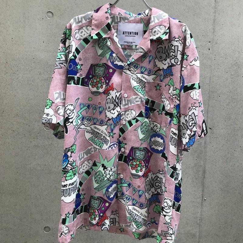 Pop シャツ【受注期間7/5〜8 (AM9時まで)】