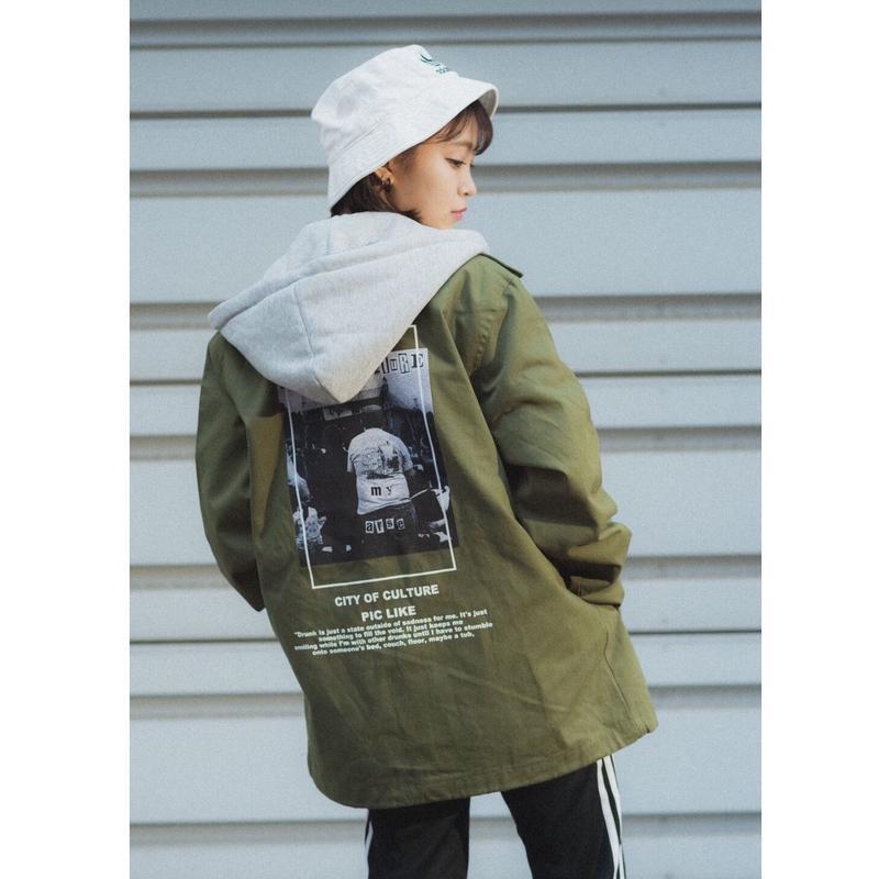 CITYフード付きジャケット