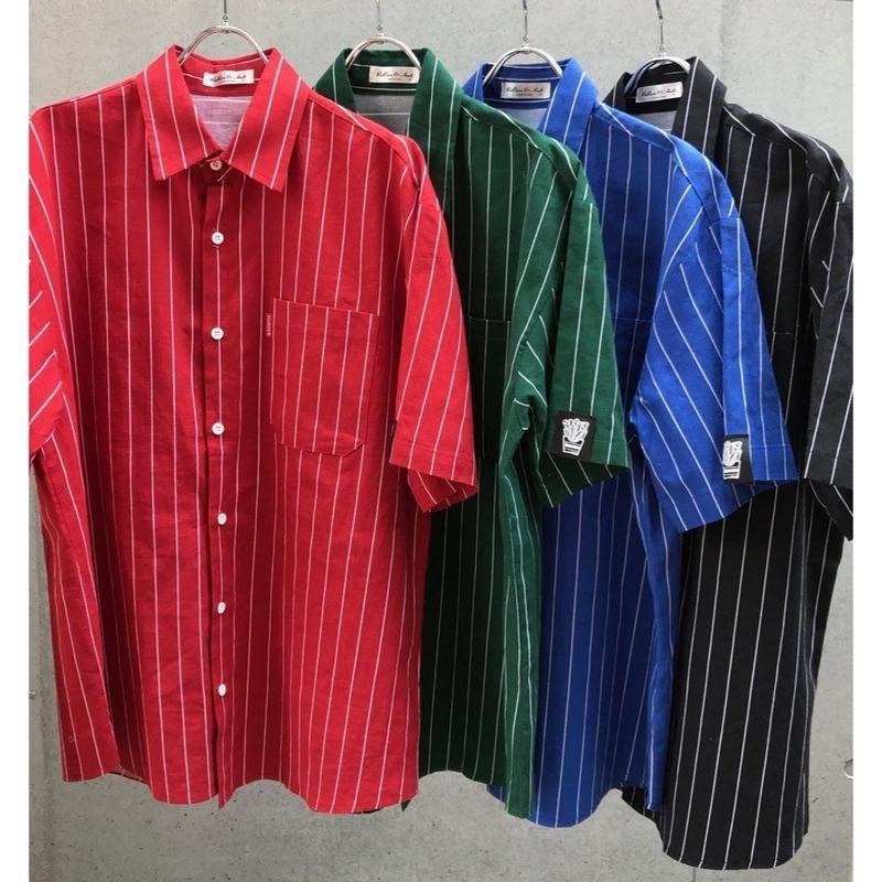 Stripe シャツ【受注期間7/5〜8 (AM9時まで)】
