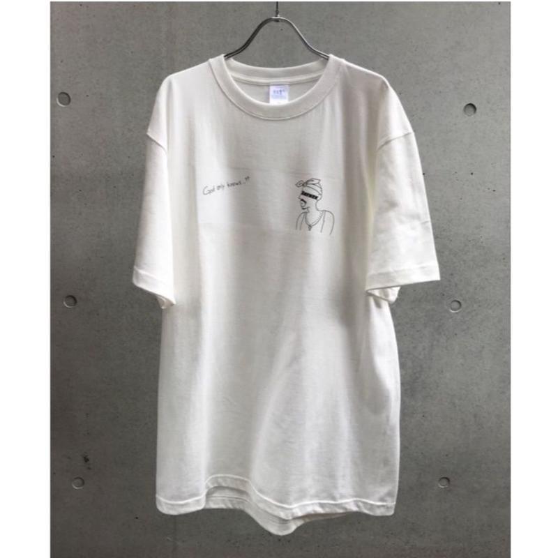 God Tシャツ【受注期間7/5〜8 (AM9時まで)】