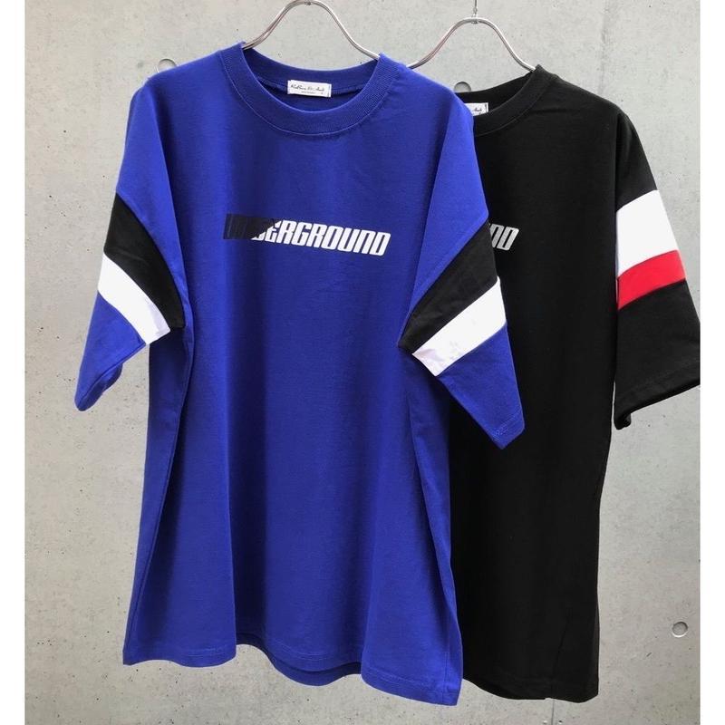 UNDER GROUND Tシャツ【受注期間7/5〜8 (AM9時まで)】
