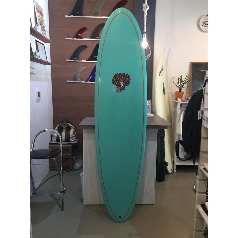 CHUCK DENT surfboard  ミッドレングス FUN