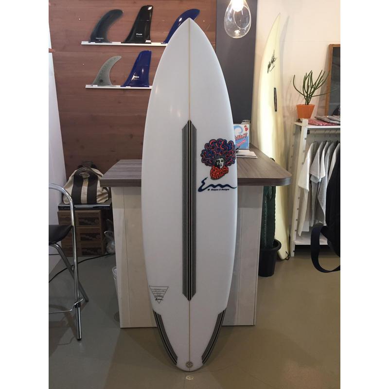 CHUCK DENT  surfboard  BLENDER