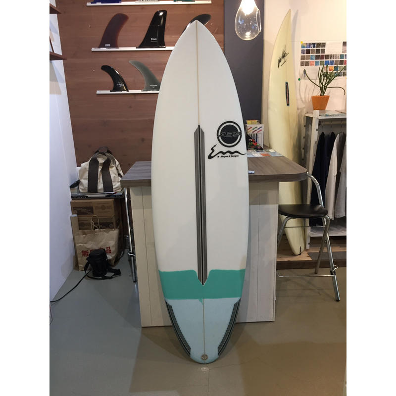 A39 surfboard  BLENDER EPS