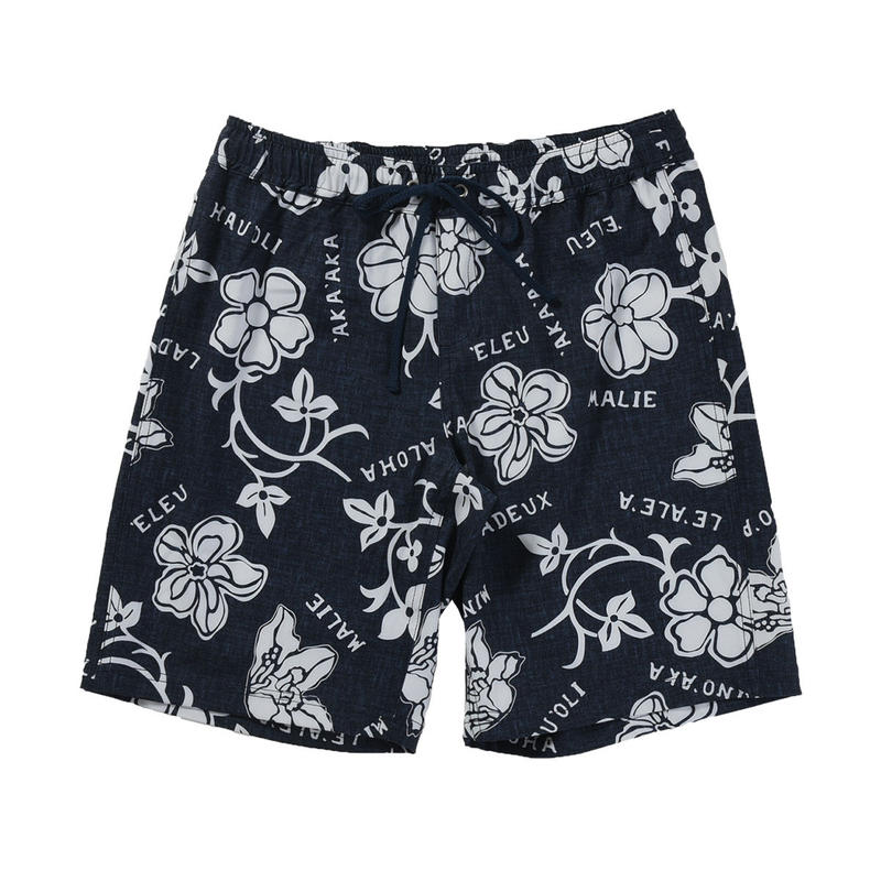 2401 PRINT BOARD SHORTS (MIDDLE丈)
