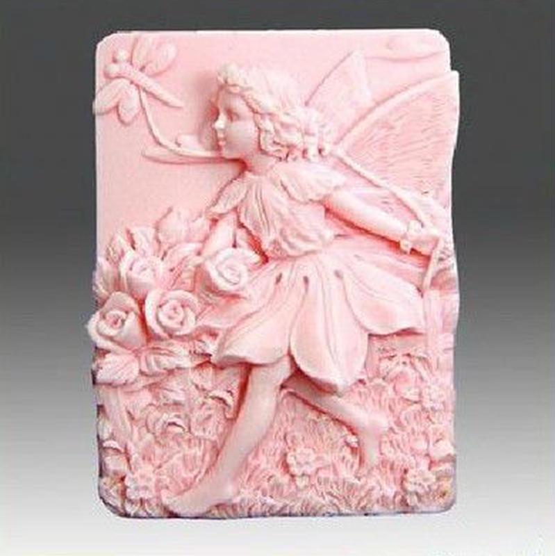可愛い妖精のモールド H016
