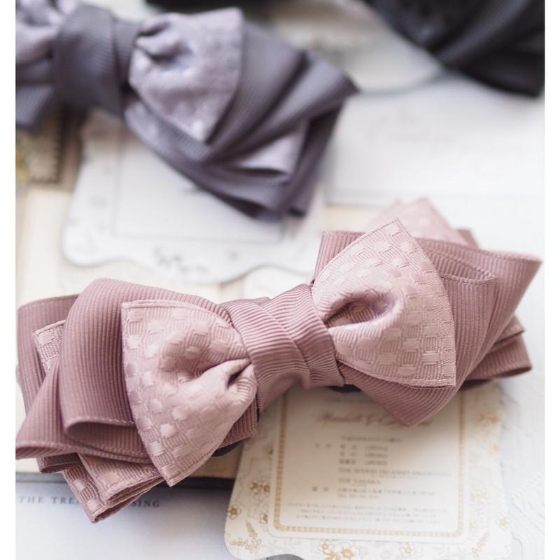 ribbonribbonバナナクリップ(モカベージュ)