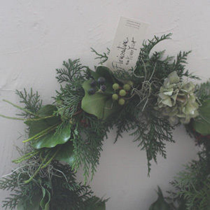 wreathe design フレッシュグリーンリース