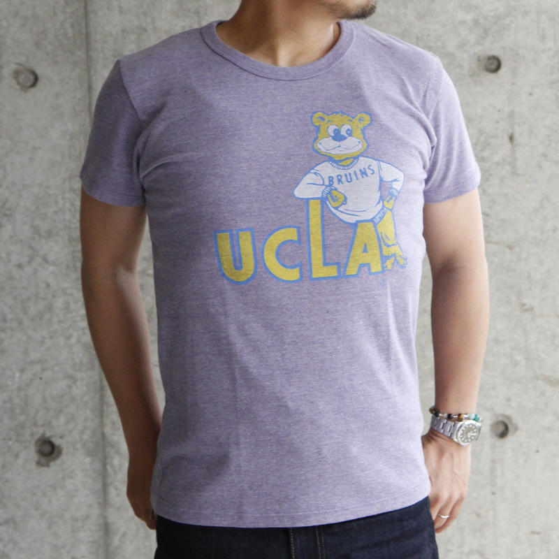 UCLA-0008 UCLA VINTAGEヘザーTシャツ