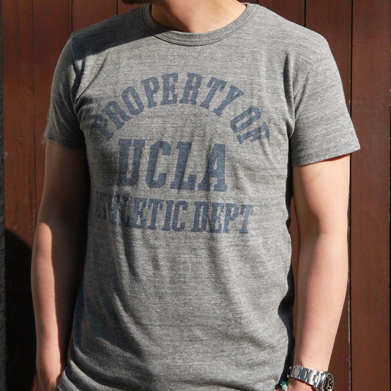 UCLA-0001 UCLA VINTAGEヘザーTシャツ