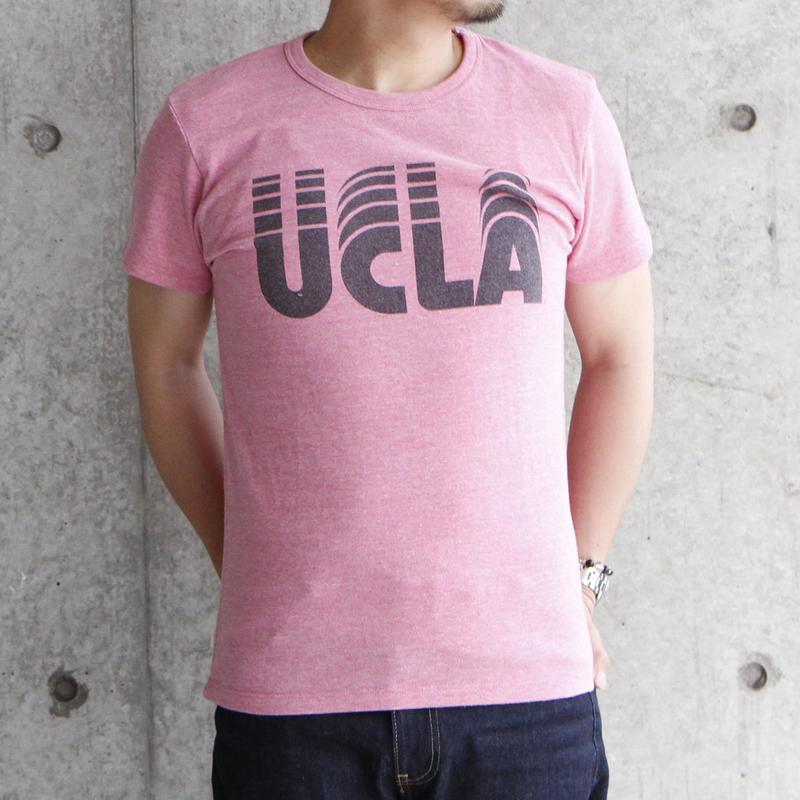 UCLA-0014 UCLA VINTAGEヘザーTシャツ