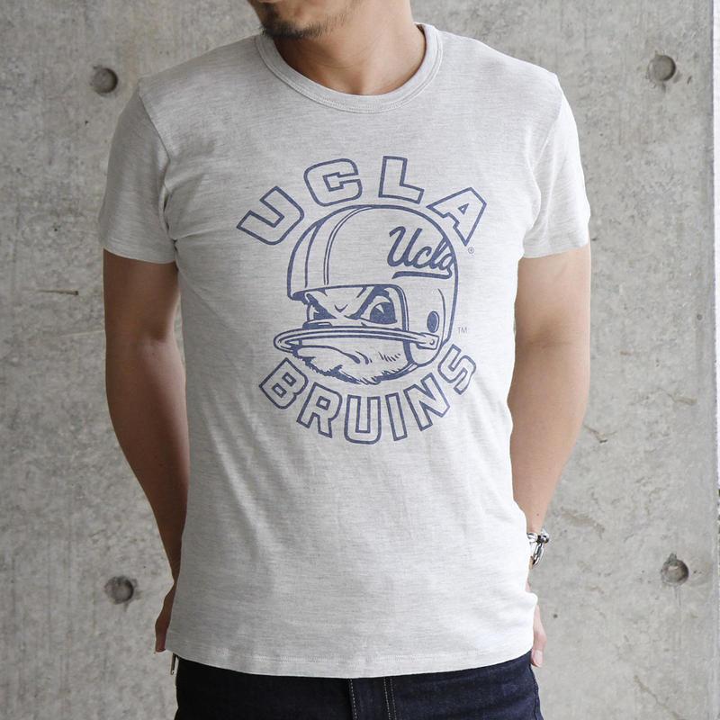 UCLA-0015 UCLA VINTAGEヘザーTシャツ
