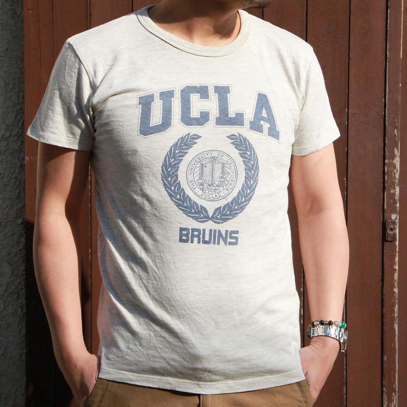 UCLA-0005 UCLA VINTAGEヘザーTシャツ