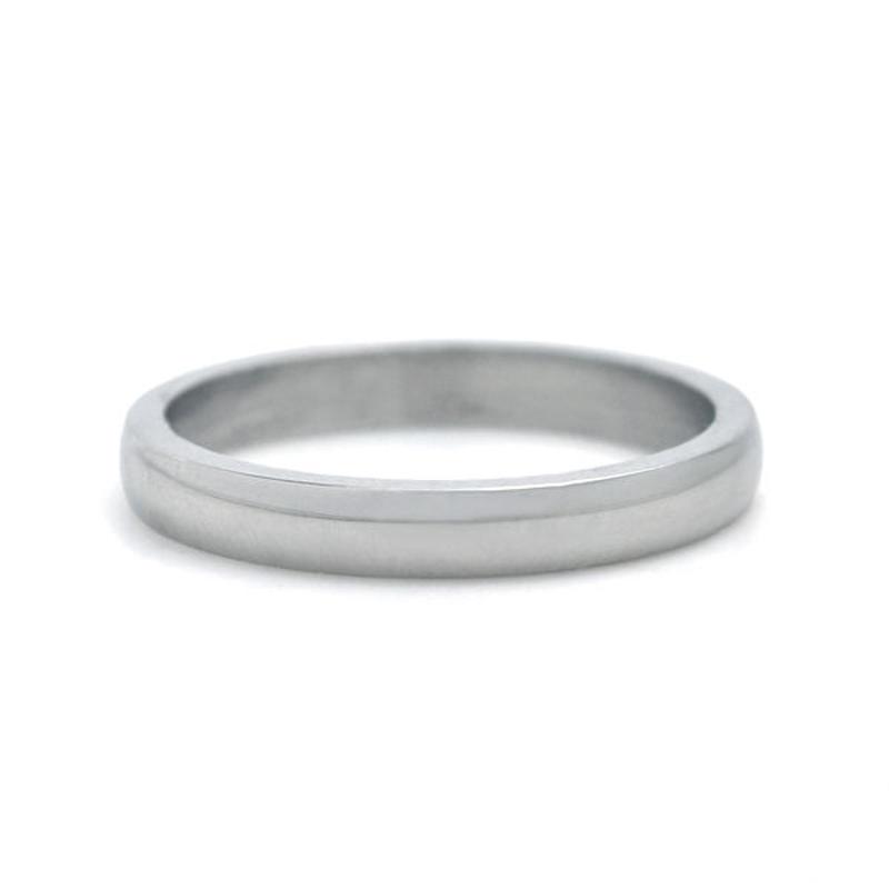 指輪 リング◆ステンレス 永く使えるシンプルデザイン♪甲丸プレーン◆XMVY0056