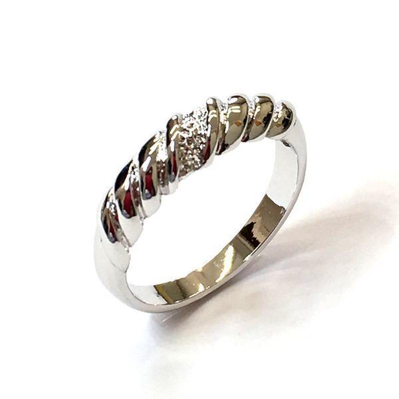 指輪 ぽてシンプルデザインリング  sg◆BR-439