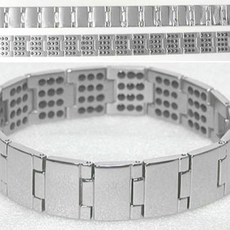美容 健康 ブレスレット◆チタン製 ゲルマニウム180粒◆K8225