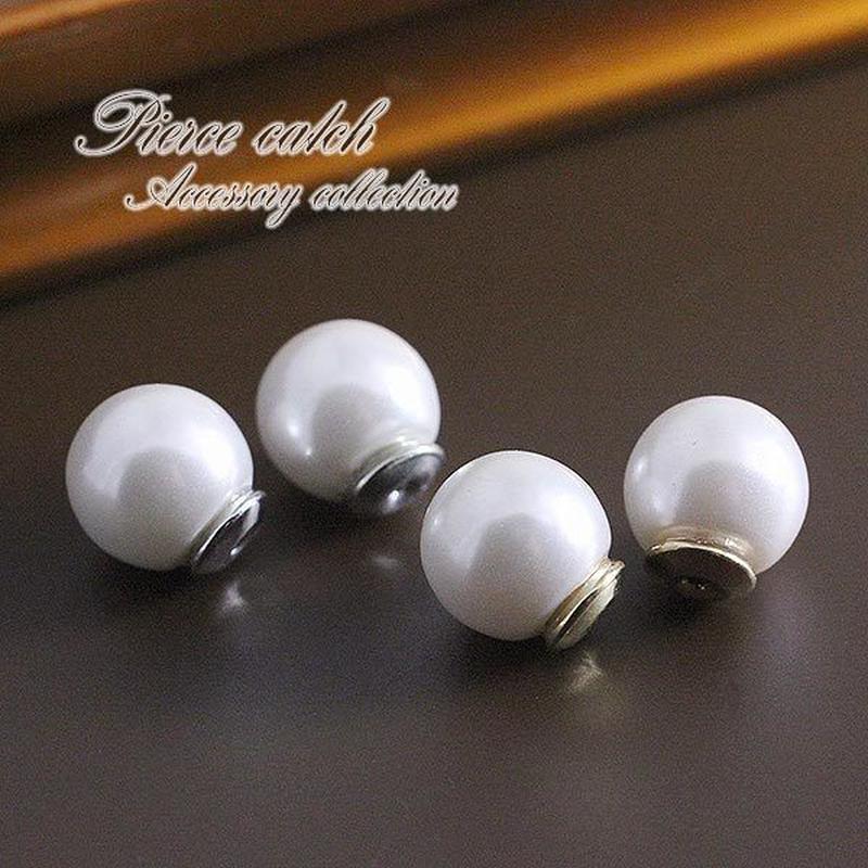 ピアスキャッチ◆8mm真珠のピアスキャッチ◆tp-041
