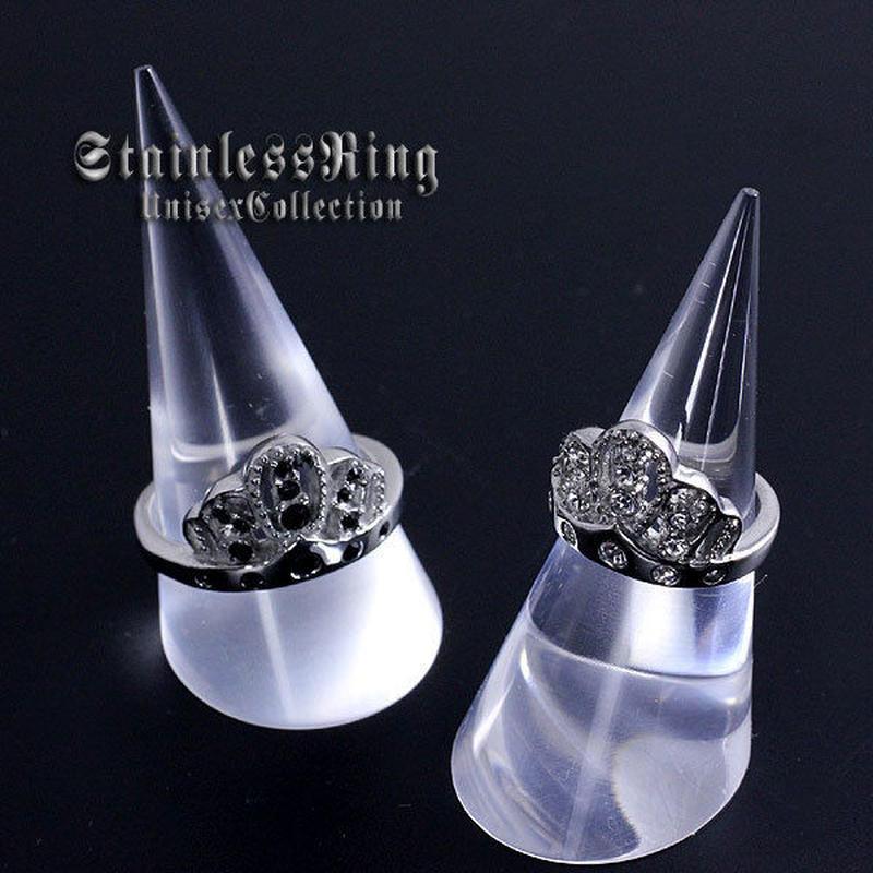 指輪 リング◆「王冠/クラウン」ステンレスのリング◆St-9012