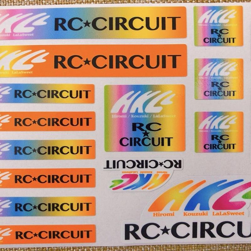 HKL RC★CIRCUIT ステッカー
