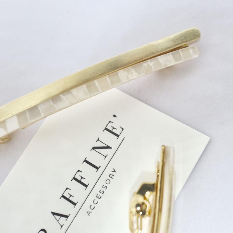 whiteline  barrette
