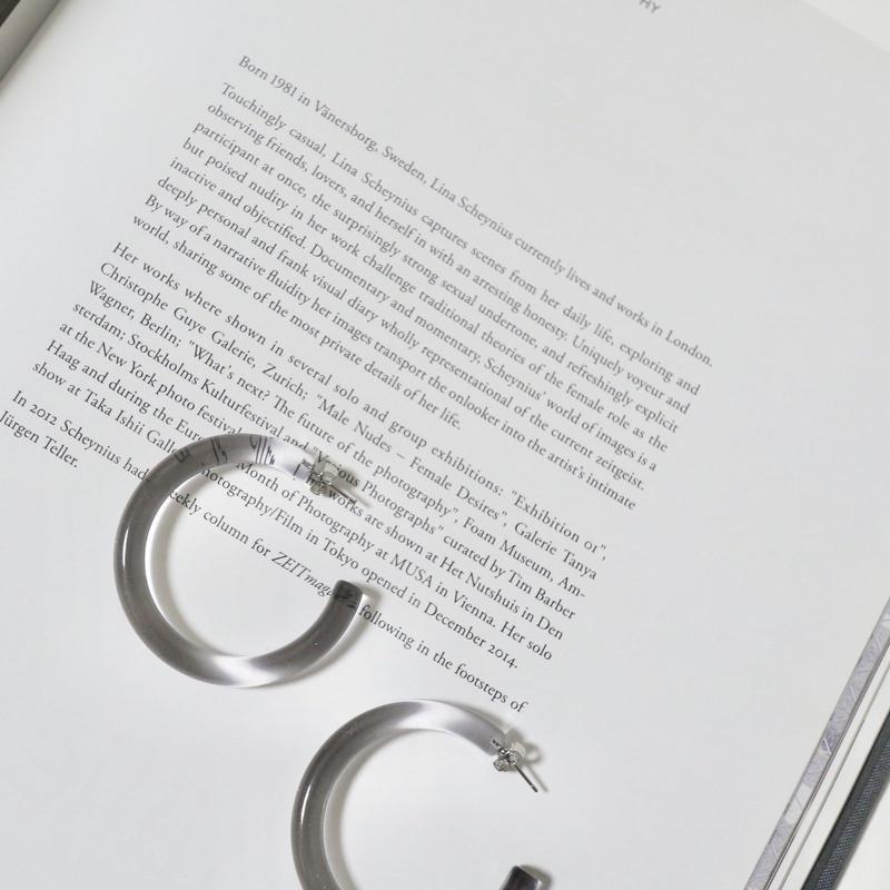 clearhoop pierce(grey)