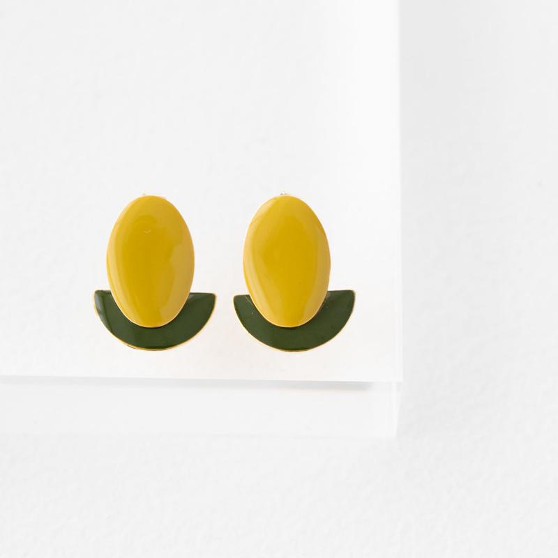twins pierce(yellow)
