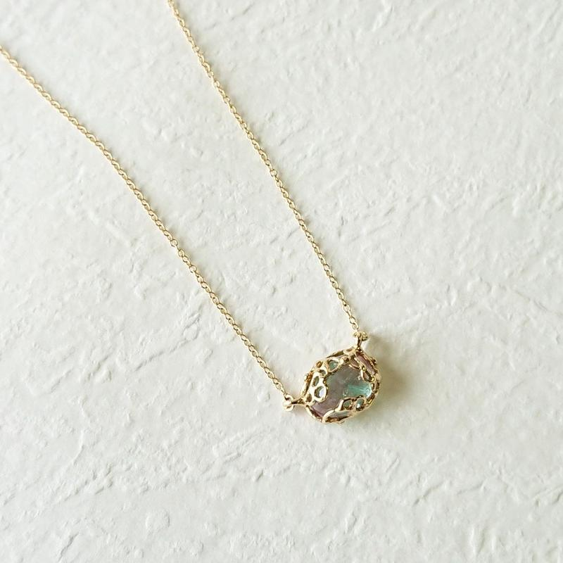 K10 Necklace (Bicolor tourmaline)
