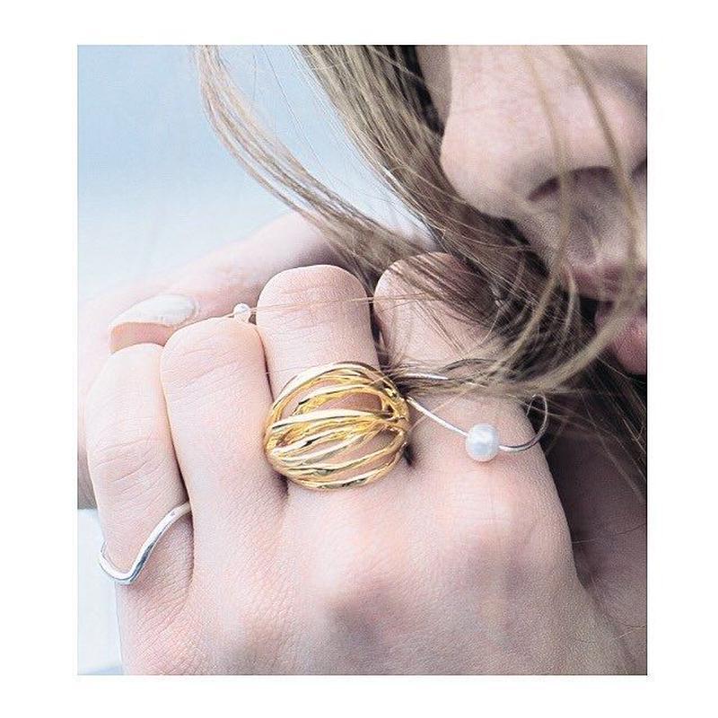 Spiral ring (gold)