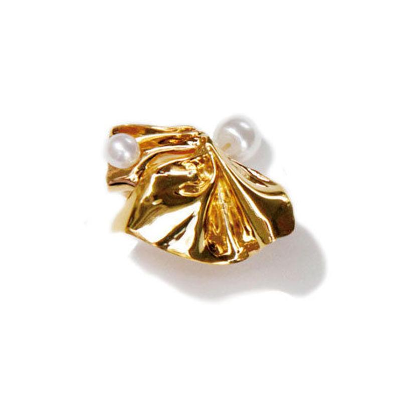 Raffle (M) ピアス Gold / Silver