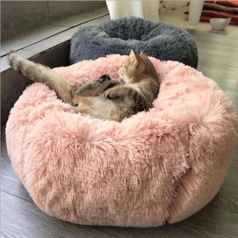 【LAMODA】ふわふわベッド(高さ15cm成犬・猫/10cmパピー・老犬) 一度入ったら出られない!? やみつきベッド おしゃれ ふかふか