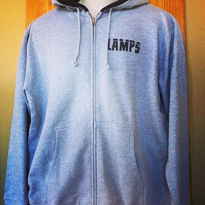 LAMPS ジップパーカー