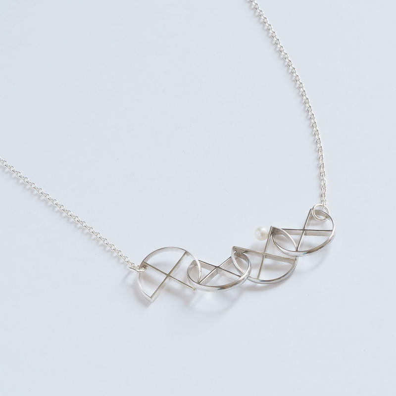 necklace クローバー探し