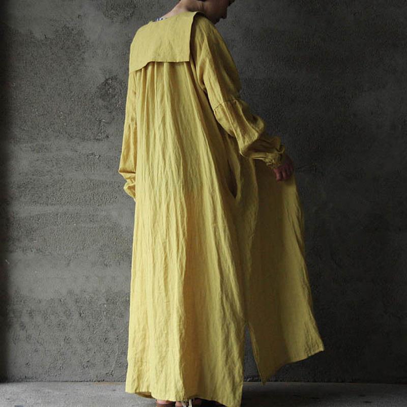 Tabrik sailor color dress  yellow
