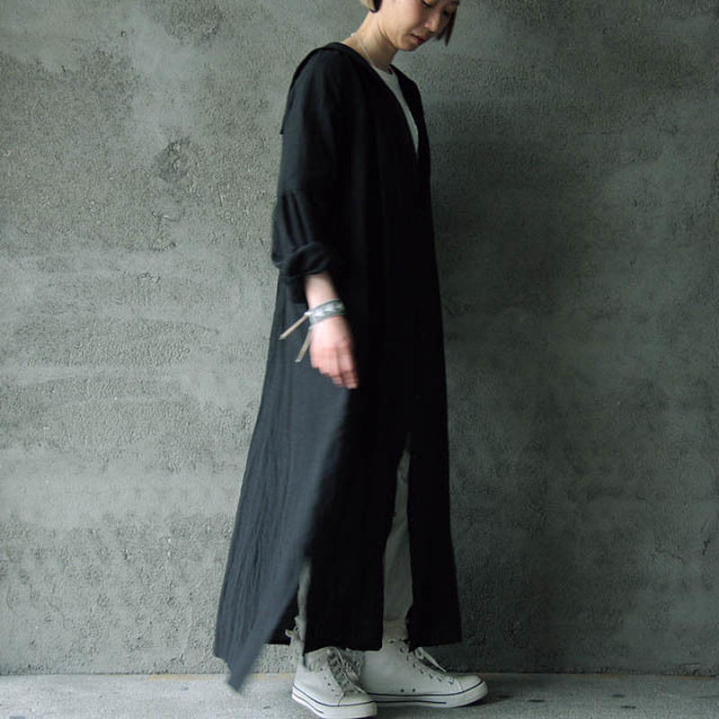 Tabrik sailor color dress black