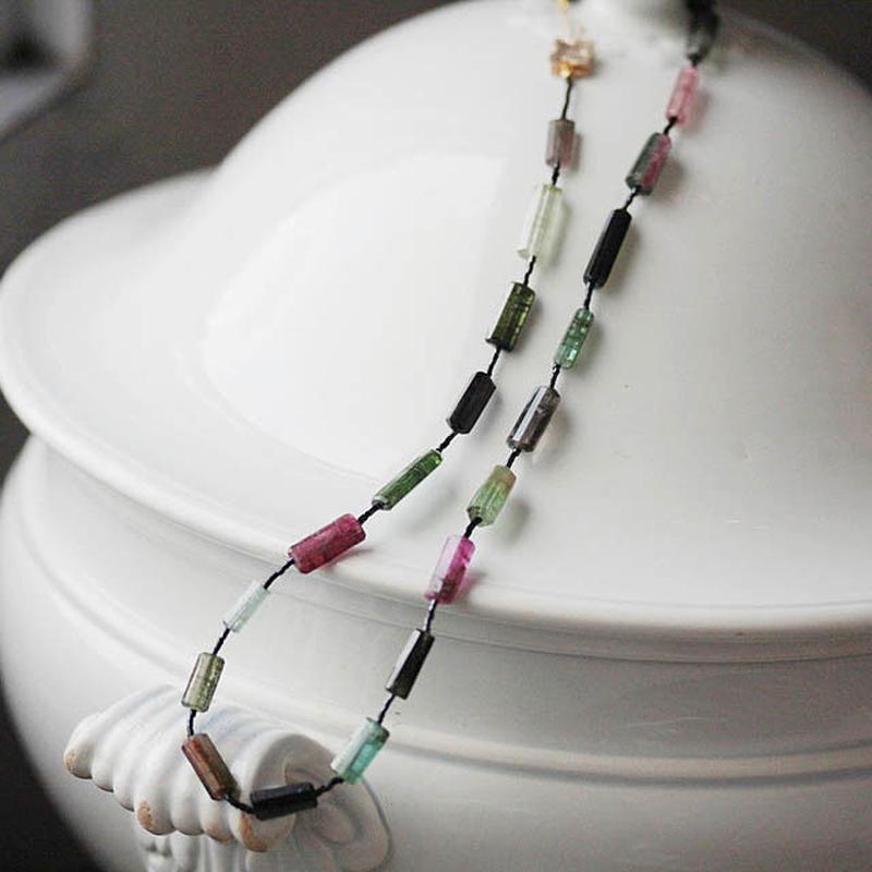 MAISON RUBUS. Ombre necklace