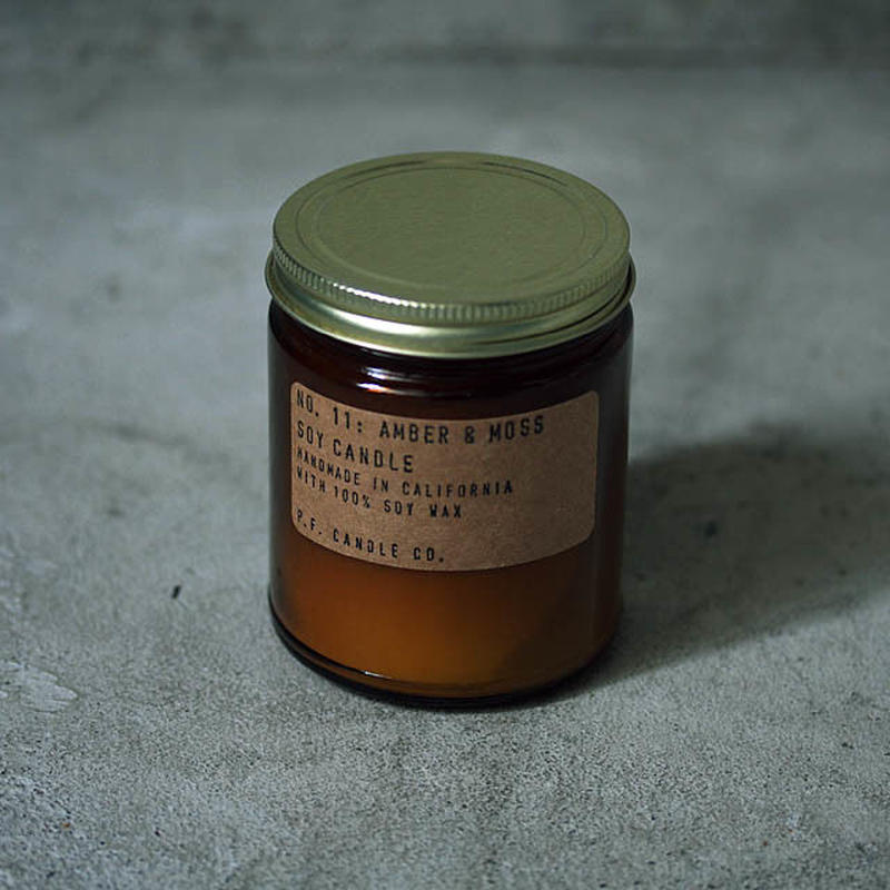 P.F.CANDLE CO. NO.11 AMBER & MOSS